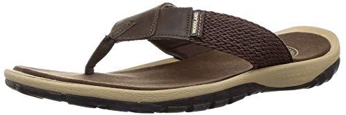 Woodland Men's Brown Leather Thong Sandals-8 UK/India (42 EU) (GP 2181116CMA)