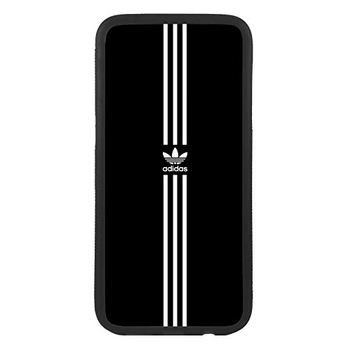 Funda Carcasa de móvil para Apple iPhone 5 5s Logotipo Adidas Logo Antiguo Rayas TPU Borde Negro