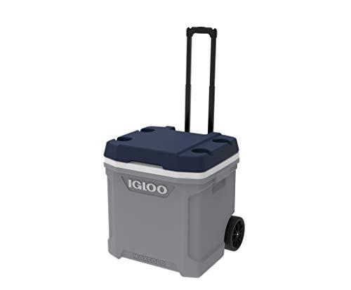 Igloo Maxcold Latitude 62 Roller Nevera con Ruedas, 56 litros, Gris