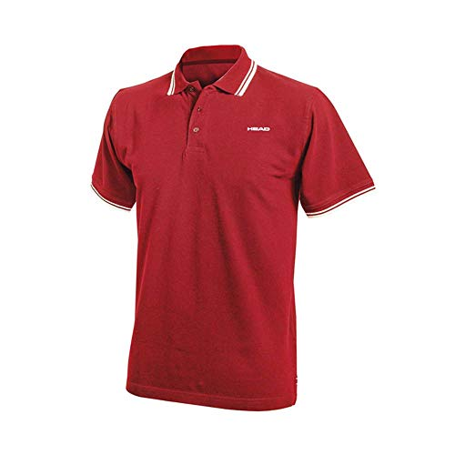 HEAD Swimming Team Polo Herren T-Shirt L Rojo (RD)