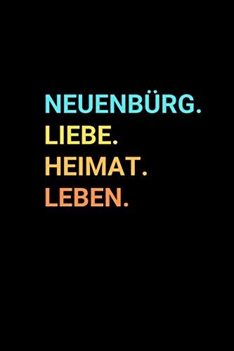 Neuenbürg: Notizbuch, Notizblock, Notebook | Punktraster, Punktiert, Dotted | 120 Seiten, DIN A5 (6x9 Zoll) | Notizen, Termine, Ideen, Skizzen, ... Dorf, Metropole, Region, Liebe und Heimat