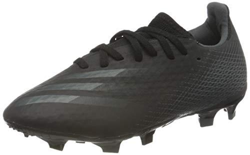 adidas X GHOSTED.3 FG, Scarpe da Calcio Uomo, Core Black/Core Black/Grey Six, 40 2/3 EU