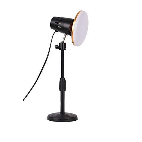 Llenar la luz para la computadora de la computadora Webcam Iluminación para la computadora portátil Videoconferencia Portátil Zoom Selfie Light Frío Cálido Luz (Color : Warm)
