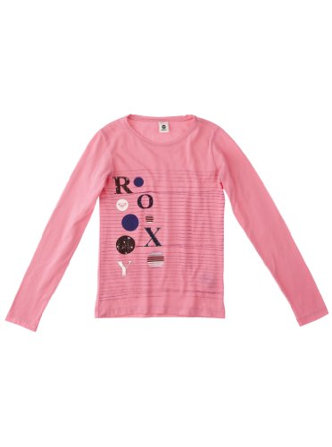 Roxy T-shirt à manches longues Santa Anna pour fille Rose rose fluorescent 9 ans