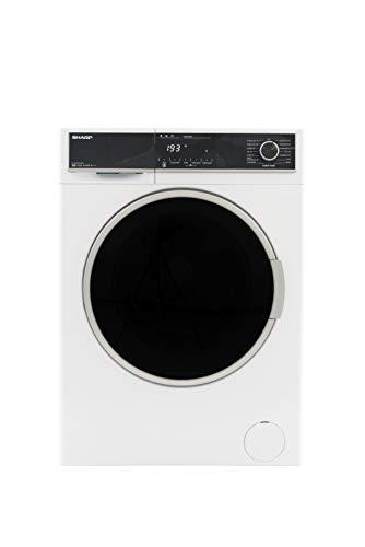 Sharp ES-HFH814AW3-DE Waschmaschine Frontlader / A+++ / 8 kg / 1400 U/min. / 15 Programme / 15 Min. Kurzprogramm / AllergySmart / Startzeitvorwahl 23 Stunden / AquaStop / Kindersicherung