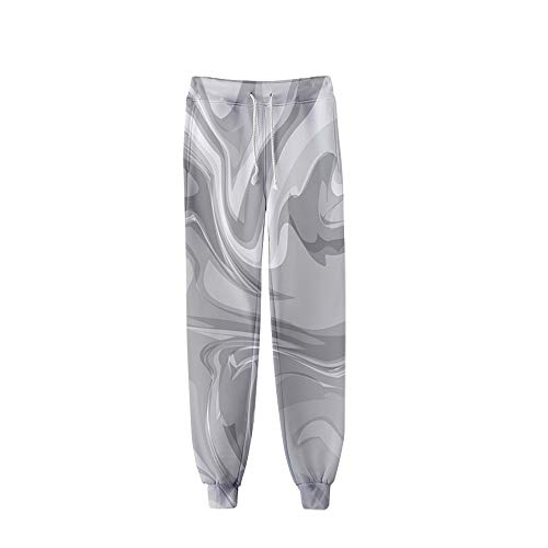 BienBien Unisex Pantalón Deportivo 3D Impreso Casuales Pantalón de Chándal Pantalones de Jogging Cintura Elástica con Cordón Ocio Diario Pantalon para Mujer y Hombre