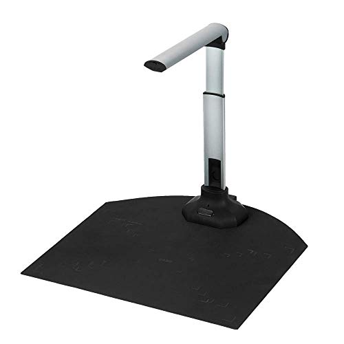 Portable high-definition scanner, capture size is A3/A4, 12MP book and document camera, with real-time projection video recording function, multi-language OCR recognition