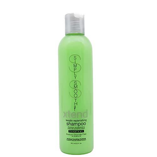Simply Smooth Xtend Keratin Replenishing Shampoo Tropical, 8.5 Ounce