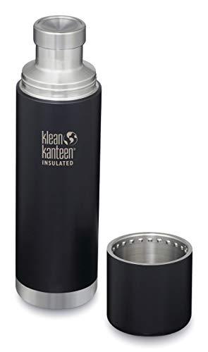 Klean Katneen - Thermal Kanteen - Thermo Flaschen (500ml, matt schwarz)