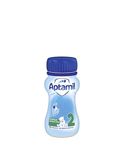 Aptamil Pronutra-ADVANCE 2, Folgemilch nach dem 6. Monat, Baby-Milchnahrung trinkfertig (6 x 200 ml)