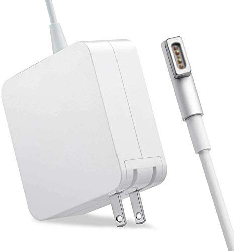 Compatible with Mac Book Air Charger, 45W L-Tip Magsafe 1 Power Adapter Magnetic Connector Charger for Mac Book 11/13 inch Mac Book Air(Before Mid 2012)