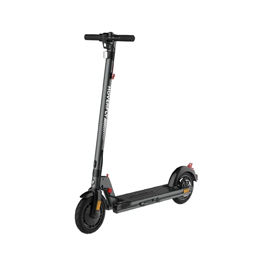 HOVERFLY Electric Scooter Adults, Foldable E-Scooter Powerful 300W Brushless Motor Up to 25km/h, 8.5' Pneumatic Tyres, 30km Long-range Battery, Adults Electric Commuter Scooter - XR-Elite Gray