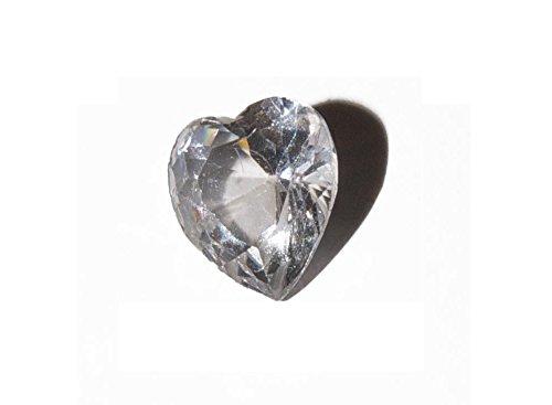 Con piedra del mes de abril–5mm encanto flotante se ajuste a living Memory Lockets y Origami búho estilo Lockets
