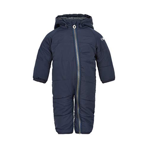 MINYMO Baby Jungen Schneeanzug Wagenanzug Winter-Overall, Größe:62, Farbe:Navy Blazer