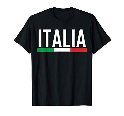 Italien-Flagge färbt Italien-Geschenk-Kleid T-Shirt