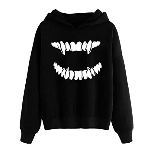 Hoodie Kapuzenpulli Hawkimin Damen Drucken Kapuzenpullover Fashine Casual Kapuze Sweatshirt Mode Hoodies Winter Warme Jumper für Frauen Mode Kapuzen Pullover Gestreiftes Pulli Sweatshirts