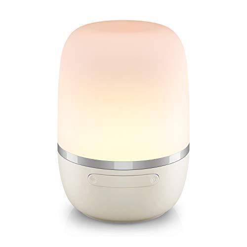 Lámpara de Mesa Inteligente. Wi-Fi Lámpara de Noche de Atmósfera. Luz Nocturna Infantil, Colores Cambiable RGB. Compatible con Amazon Alexa, Google Assistant y SmartThings. Meross