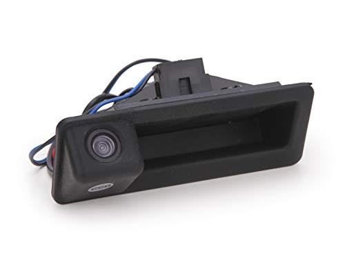 IP68 Impermeabile Retrocamera Auto Visione CCD Notturna Telecamera con Angolo di Visione di 170 Gradi Telecamera Retromarcia per BMW X1 X3 X5 X6 E53 E60 E61 E70 E71 E82 E83 E84 E88 E90 E91 E92 E93