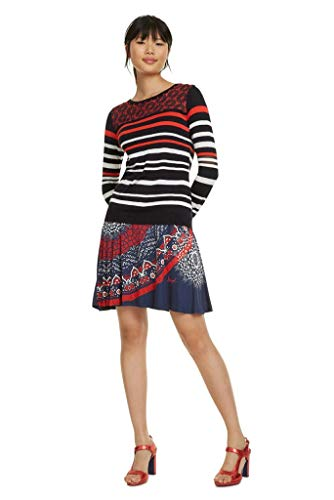 Desigual Pullover Nimes Rot 19swjf91 XS rot