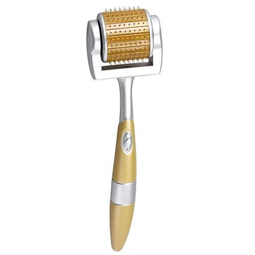 Titan-Derma-Roller mit Micro-Nadeln, Hautpflege-Tool zur Anti-Aging-Behandlung, Beseitigung von Akne, Cellulite, Falten, Dehnungsstreifen, Verbesserung des Haarwachstums und der Durchblutung