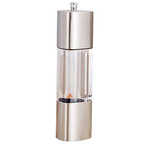 Learn More About Condiment bottles 304 Stainless Steel Grinder Manual Pepper Pepper Grinder Spoon Gr...