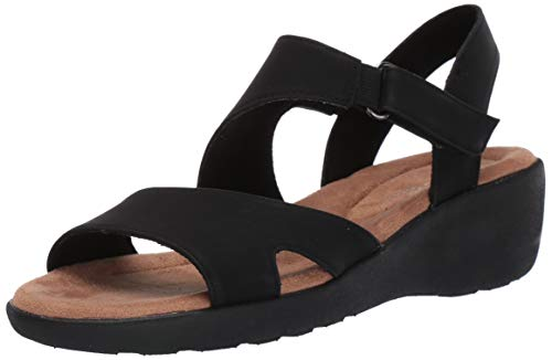 Price comparison product image Easy Spirit Women's KASHA3 Sandal,  Blk01,  5 M US