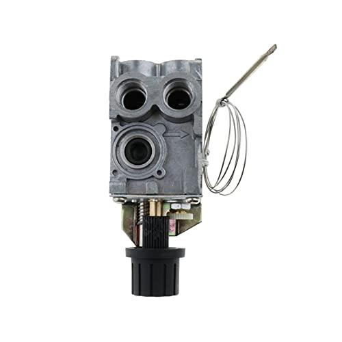 HUAHUA JUSU Store Válvula de termostato de Control de Gas Ajuste para el Horno de Fryer y más, 100-340 , 50 mbar