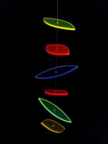 sabro-design Elipsenförmiges - Mobile Sonnenfänger Leuchtscheibe Suncatcher Dekoration