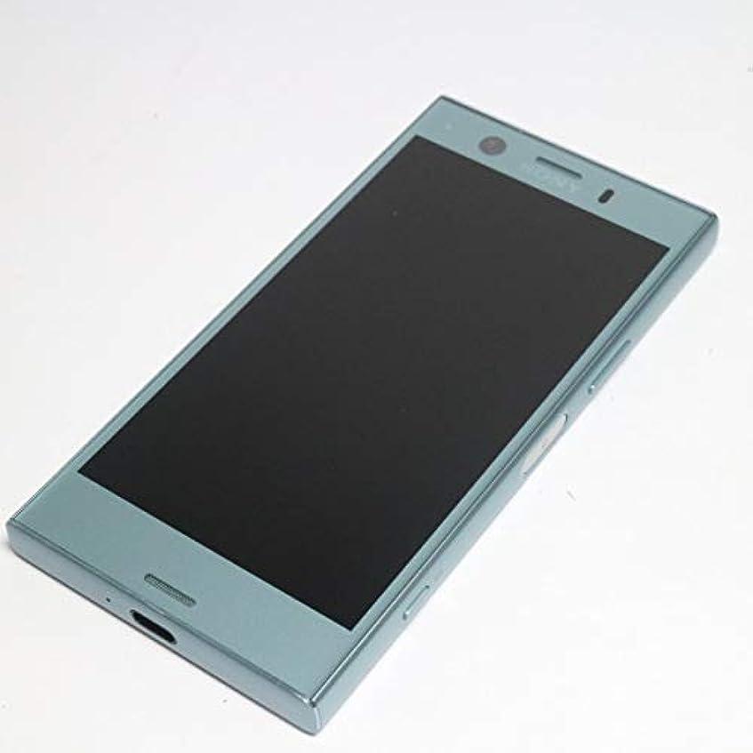 フリンジ埋め込む定刻docomo Xperia XZ1 Compact SO-02K [Horizon Blue] ブルー 白ロム