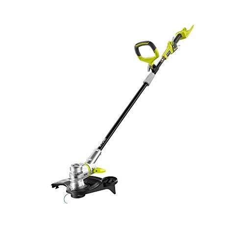 Ryobi RY40201A 40-Volt Lithium-ion Cordless Shaft String Trimmer/Edger - Battery and Charger Not Included (Renewed)
