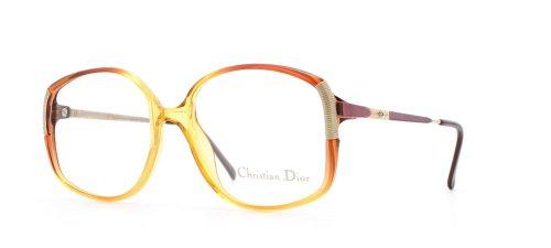 Christian Dior Damen Brillengestell Gold Gold Red