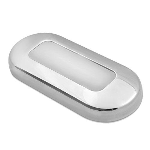 Dream Lighting 12V DC Treppenlicht/Flurlampe/Stufenleuchte/Nachtbeleuchtung für Auto Wohnwagen Wohnmobil RV Boot Yacht Reisemobil,außen/Innen,wasserdicht,Edelstahl Blau