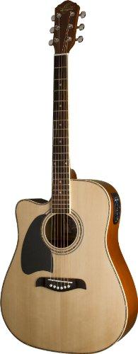 Oscar Schmidt 6 String Acoustic-Electric Guitar, Right (OG2CELH-A-U)