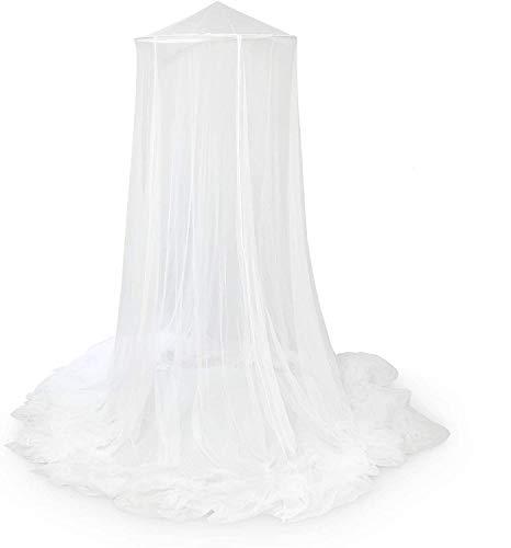 Ultranatura Moskitonetz, XXL - Insektenschutz, für Doppelbetten geeignet, einfach zu montieren, Reisemoskitonetz gemäß WHO, Matieral Netz: Polyester, Maße: 0,65x2,5x12 m,...