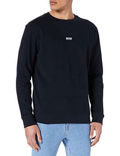 BOSS Herren Weevo 2 Sweatshirt, Black1, L