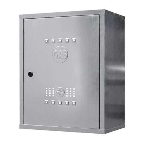 Cassetta per contatore gas in acciaio zincato – Art. 065 – TECNOMETAL