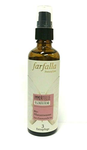 Farfalla Bio-Pflanzenwasser Immortelle Regenerierend 75 ml Hydrolat