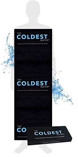 "The Coldest Ice Pack - Gel Ice Packs Reusable Cold Therapy Pack (Best for Pain and Injuries of Knee, Shoulder, Foot, Back, Ankle, Neck, Hip, Wrist) Multiple Sizes (53"" x 13"" - Full Body)"