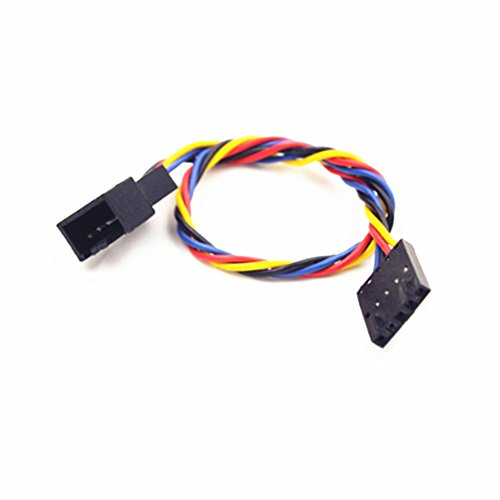 Mejor Alloet 5Pin to 4Pin Fan Connector Adapter Converter Extension Cable Wire for Dell crítica 2020