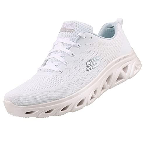 Skechers Damen Sneaker Glide-Step Sport LOVEVERY Weiß, Schuhgröße:EUR 40