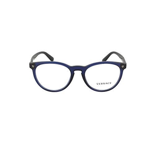 Versace Luxury Fashion Herren 3257VISTA5125 Blau Acetat Brille   Frühling Sommer 20
