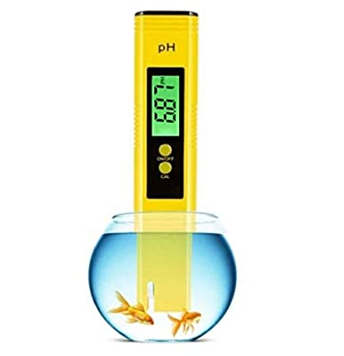 Digital PH Meter, LED Backlight PH high Precision Water Quality Tester, PH Range is 0-14, Suitable for Drinking Water, Swimming Pool and Aquarium PH Tester Design, with ATC