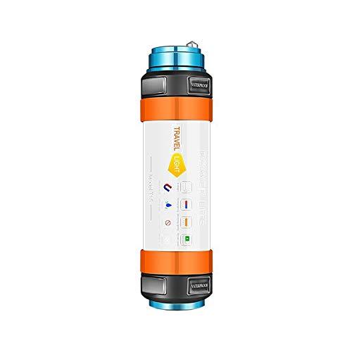 USB 9 DEL Tente Lumière recharge lampe camping lanterne Étanche Lumineux DEL Rouge por