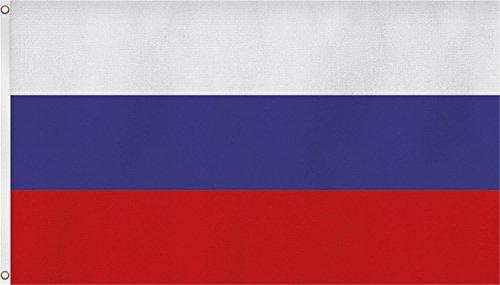 Russland Fahne 90x150 cm Russich Flagge WM 2018