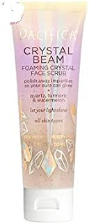 Pacifica Crystal Beam Foaming Crystal Face Scrub 1.7 oz, pack of 1