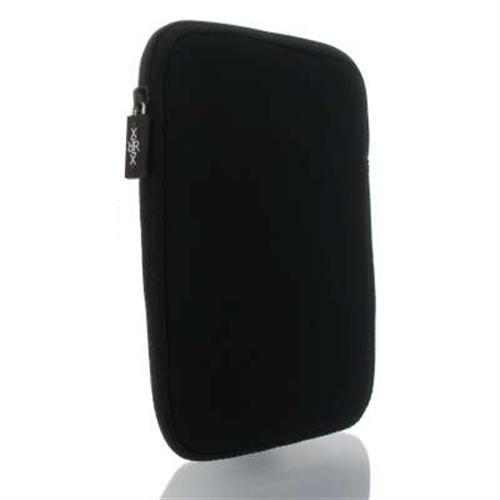 andyhandyshop Ebook Reader Tasche für Sony Reader PRS-T2 PRS-T1 Schutzhülle Etui aus Neopren 6 Zoll, schwarz
