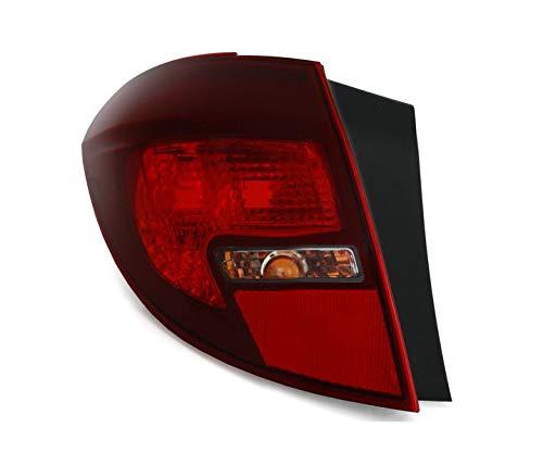 V-maxzone Vt294l gauche arrière Queue de lumière rouge foncé fumée