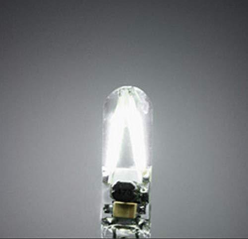 Led Birnen, G4 Led Lampe Perlen 6V Pin kleine Birne Silikon Birne 1W Led Lampe Perlen 2Pcs @ White