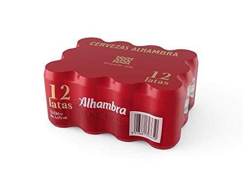 Bier Alhambra Tradicional 12x33cl (Pack 12 Dosen)
