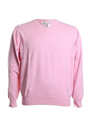 PETER MILLAR Soft Cotton Long Sleeve V Neck Sweater